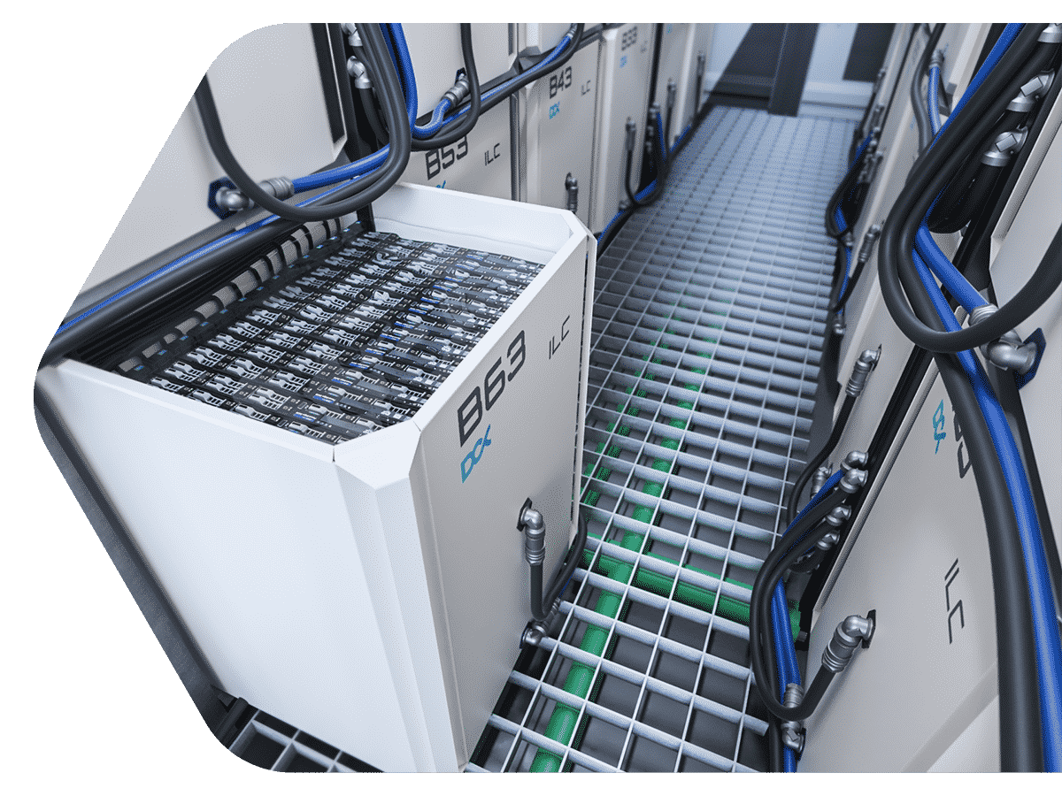 Immersion Edge Data Center - DCX The Liquid Cooling Company